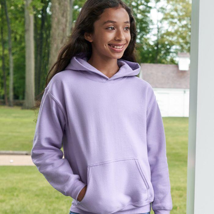 Gildan - Heavy Blend Youth Hooded Sweatshirt - GD57B