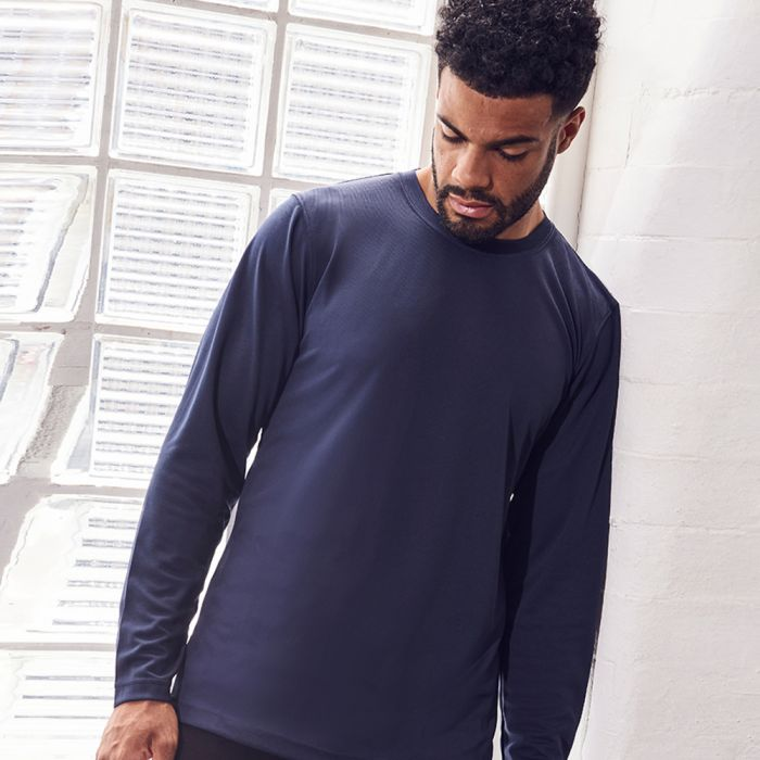 Just Cool by AWDis - Long Sleeve Wicking T-Shirt - JC002
