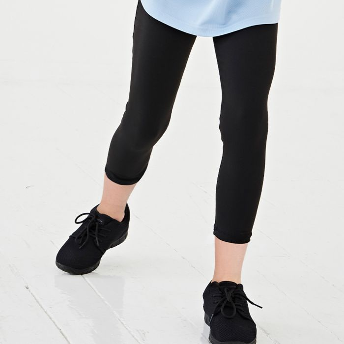 Just Cool by AWDis - Girls Capri Leggings - JC086B