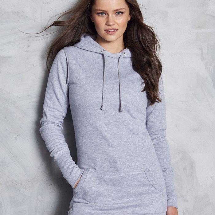 Just Hoods by AWDis - Girlie Longline Hoodie - JH005