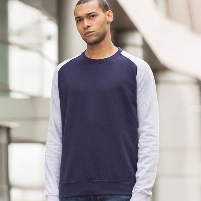 Just Hoods by AWDis - Baseball Sweatshirt - JH033