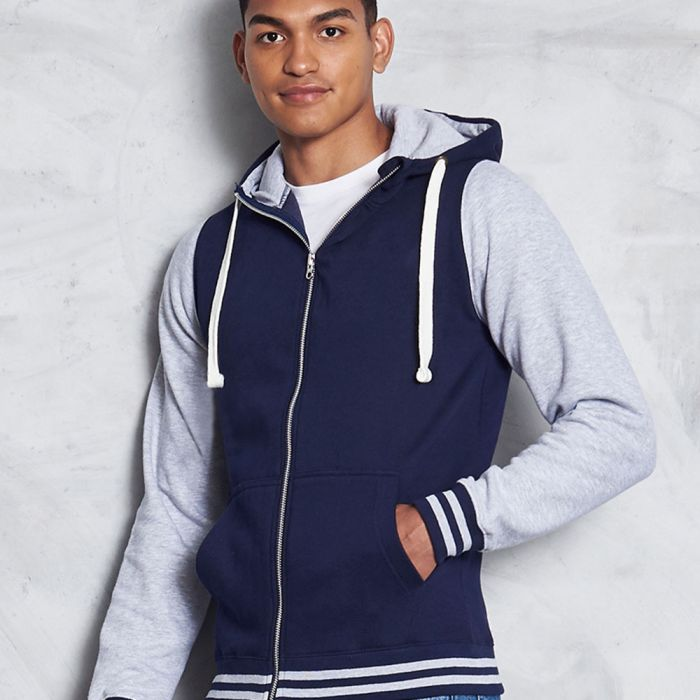 Just Hoods by AWDis - Urban Varsity Zoodie - JH051