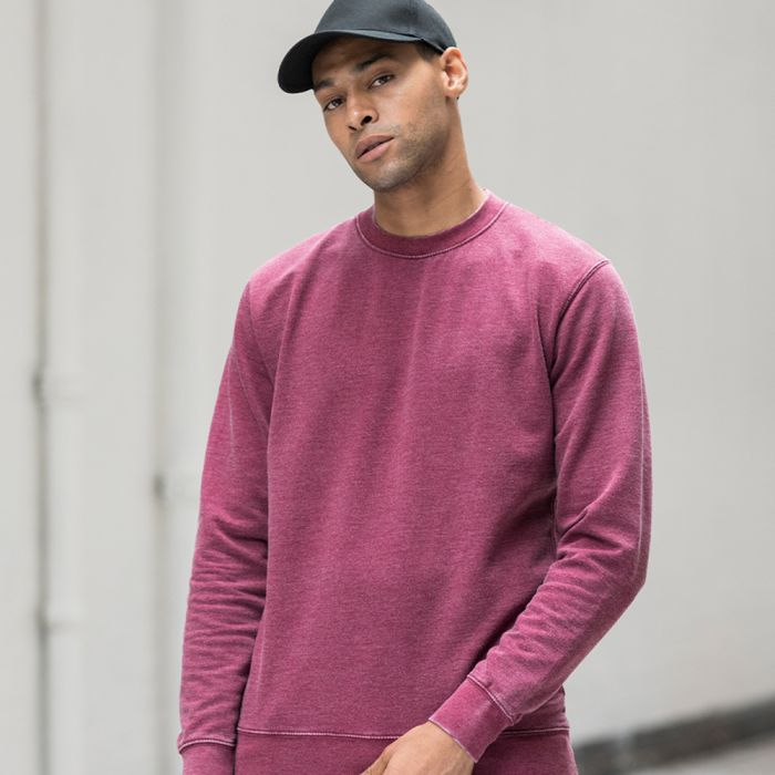Just Hoods by AWDis - Washed Sweatshirt - JH093