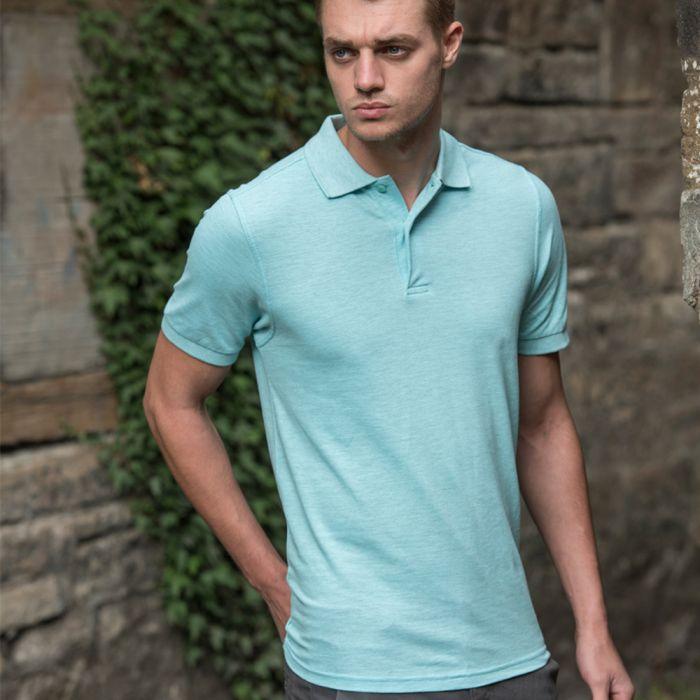 Just Ts & Polos by AWDis - Surf Melange Pique Polo Shirt - JP032