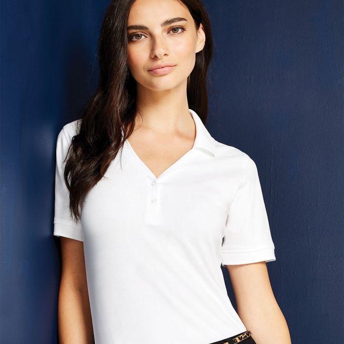 Kustom Kit - Sophia Comfortec V-Neck Polo Shirt - KK732