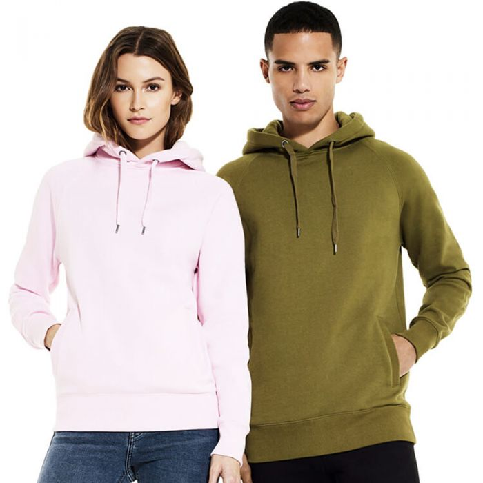 Continental - Unisex Pullover Hoody With Side Pockets - N50P