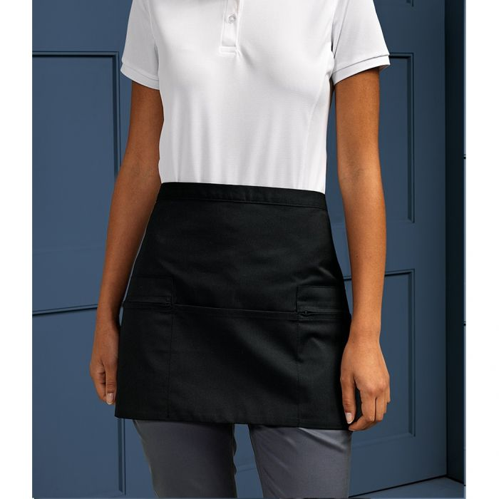 Premier - Zip Pocket Waist Apron - PR105