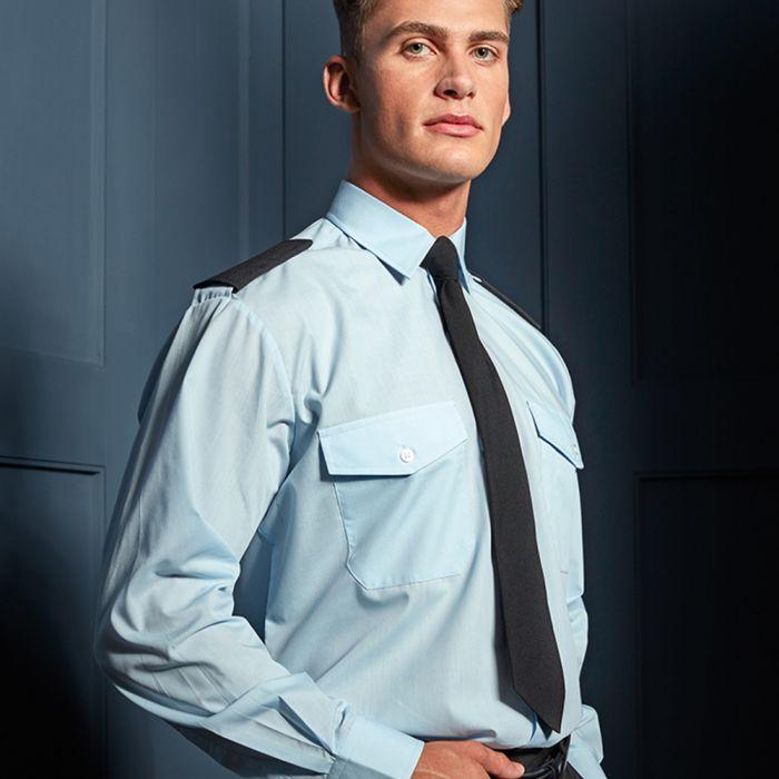 Premier - Long Sleeve Pilot Shirt - PR210