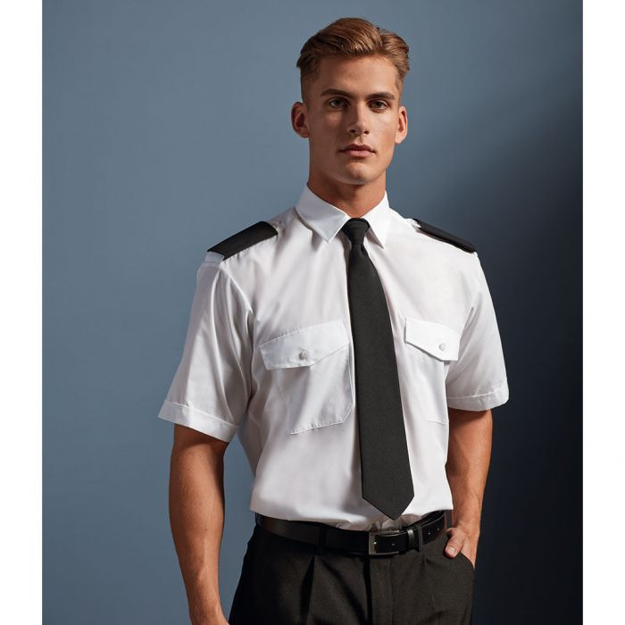 Premier - Short Sleeve Pilot Shirt - PR212