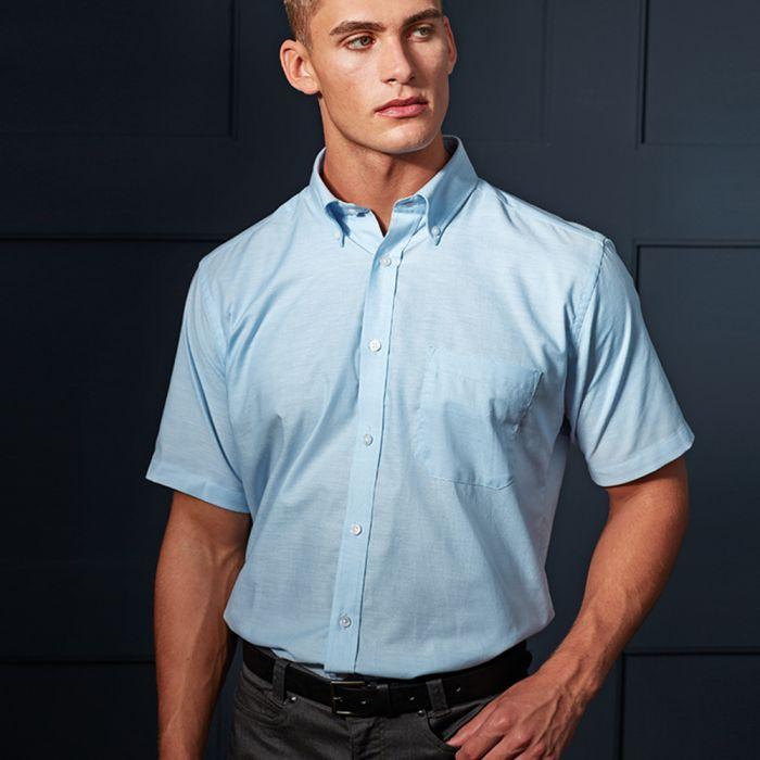 Premier - Signature Short Sleeve Oxford Shirt - PR236