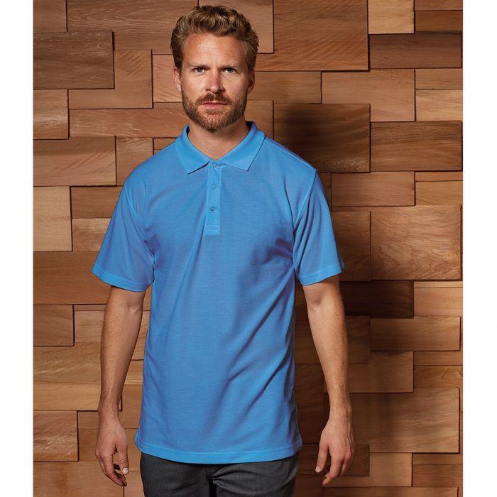 Premier - Stud Pique Polo Shirt - PR610