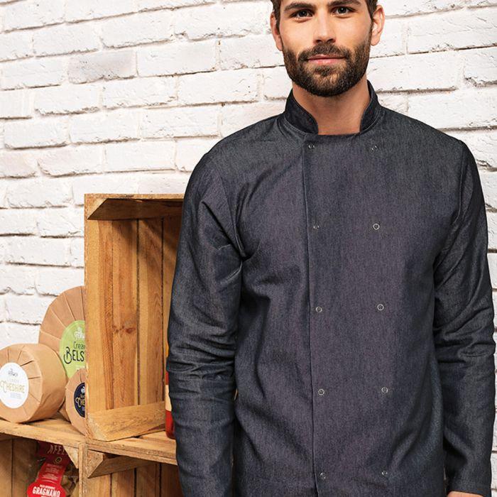 Premier - Denim Chef's Jacket - PR660