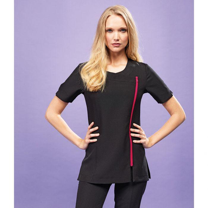 Premier - Ladies Camellia Short Sleeve Tunic - PR686
