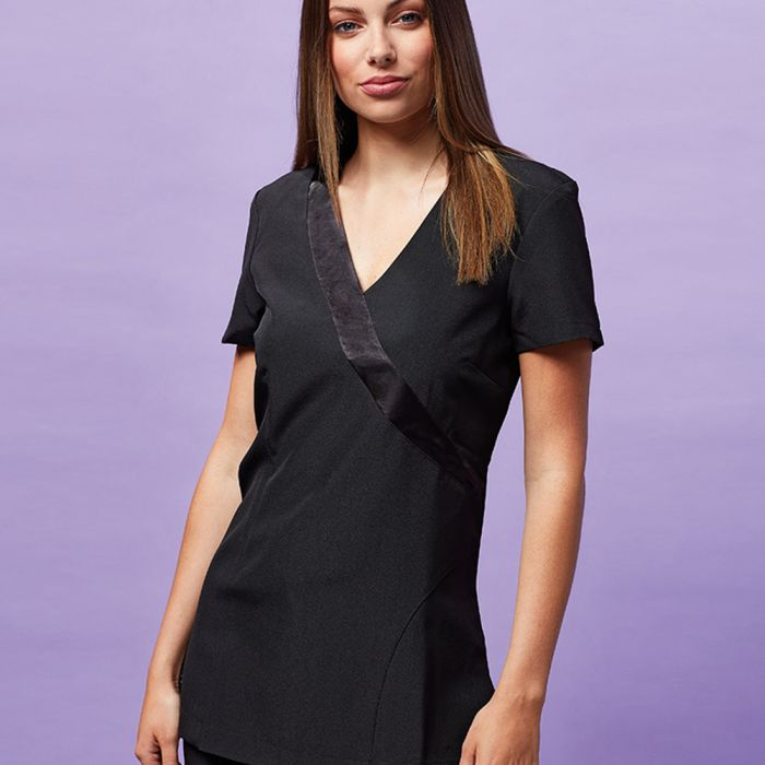 Premier - Ladies Rose Short Sleeve Tunic - PR690