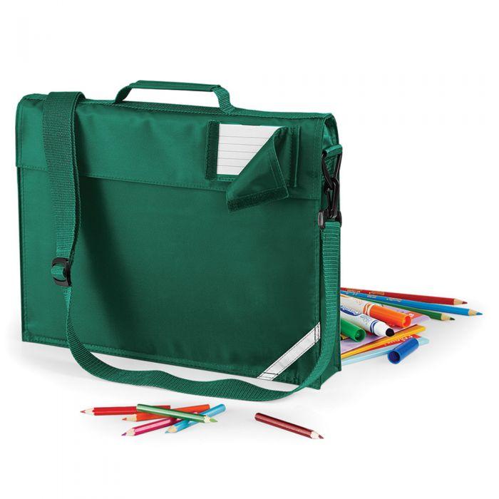 Quadra - Junior Book Bag with Strap - QD457