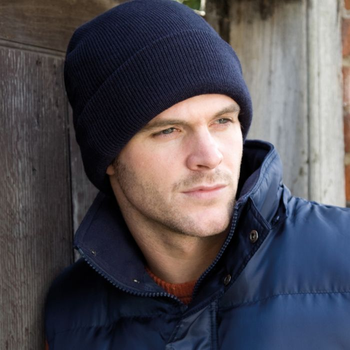 Result - Woolly Ski Hat with Thinsulate Insulation - RC033