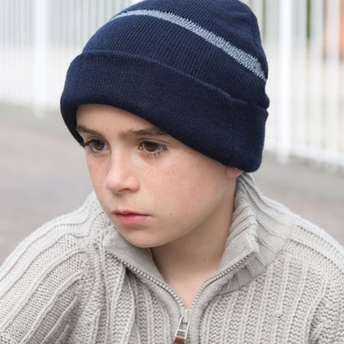 Result - Kids Wooly Ski Hat with Thinsulate Insulation - RC033B