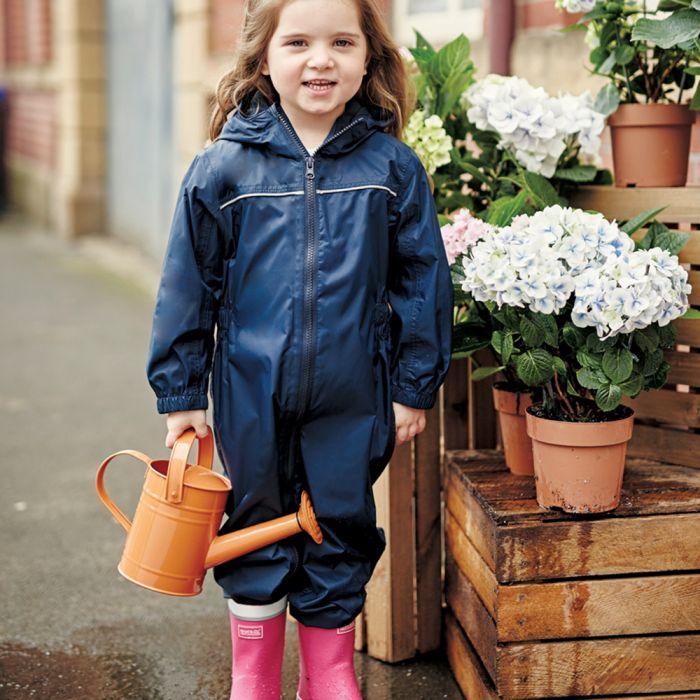 Regatta Unisex Kids Printed Splat Ii Waterproof Breathable Lightweight Durable Water Repellent Finish All in 1s