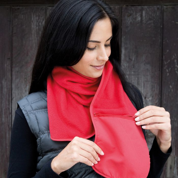 Result - Polartherm Scarf with Zip Pocket - RS100