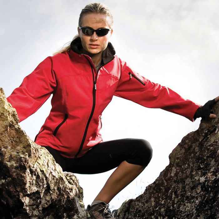 Result - Ladies Soft Shell Jacket - RS122F