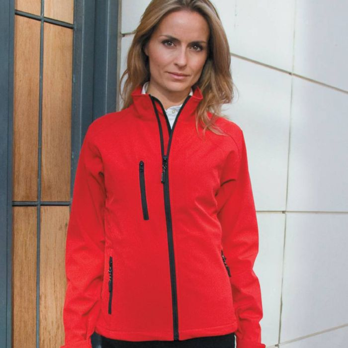 Result - Ladies Base Layer Soft Shell Jacket - RS128F