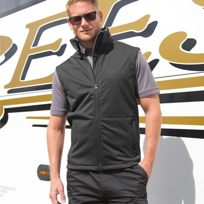 Result - Core - Soft Shell Bodywarmer - RS214