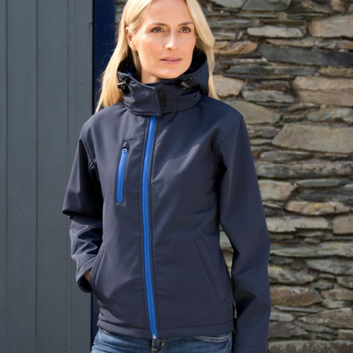 Result - Core - Ladies Hooded Soft Shell Jacket - RS230F