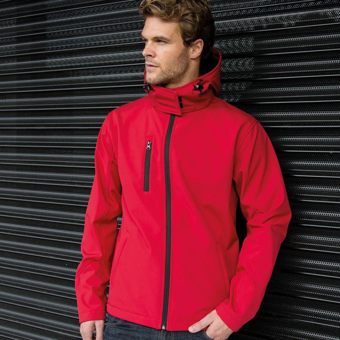 Result - Core - Hooded Soft Shell Jacket - RS230M