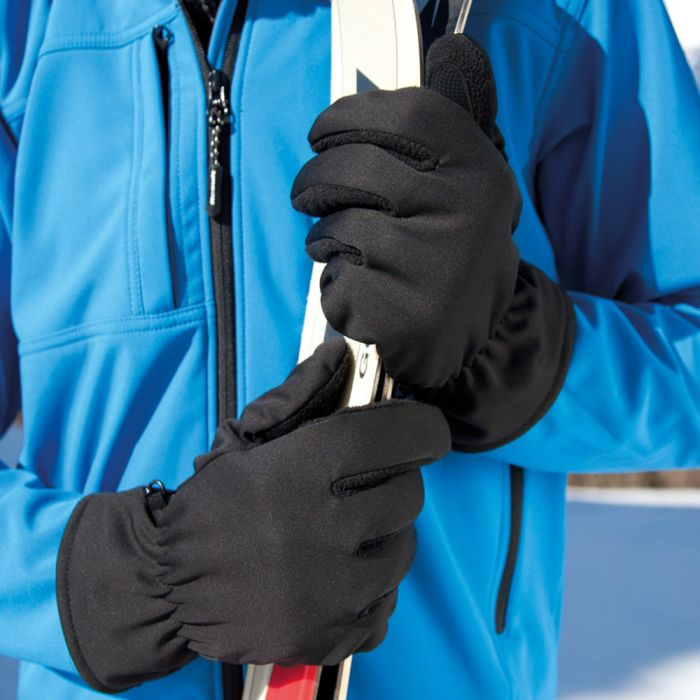 Result - Soft Shell Thermal Gloves - RS364
