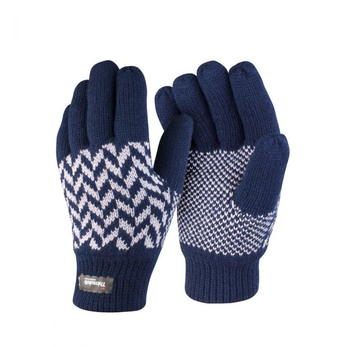 Result - Pattern Thinsulate Gloves - RS365