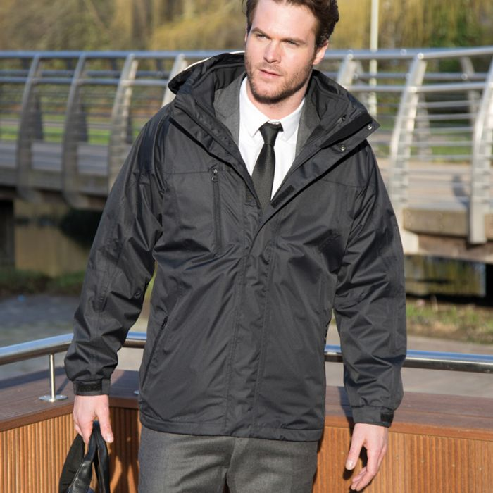 Result - 3-in-1 Soft Shell Journey Jacket - RS400M