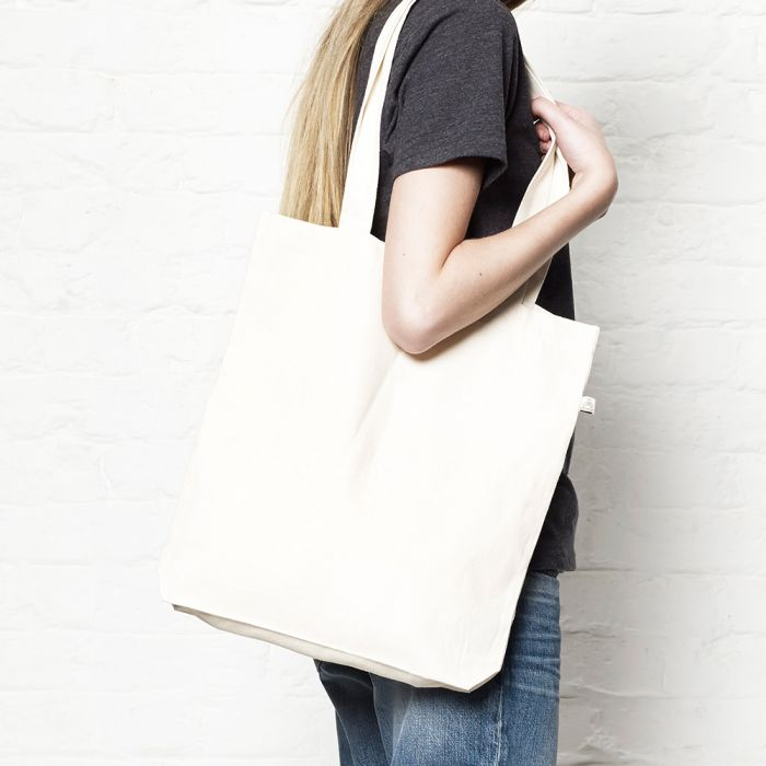 Salvage - Woven Twill Shopper Tote Bag - SA60