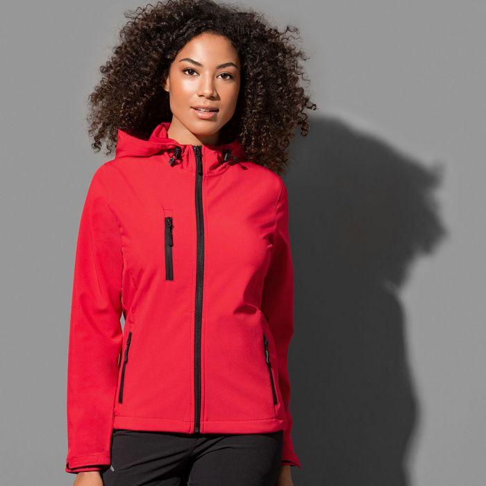 Stedman - Women's Active Softest Shell Hooded Jacket - ST5340