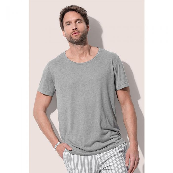 Stedman - David Oversized Crew Neck T-Shirt - ST9850