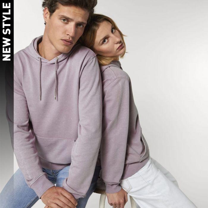 Stanley/Stella - Cruiser Vintage - The Unisex Garment Dyed Hoodie Sweatshirt - STSU853