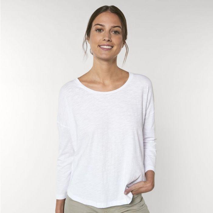 Stanley/Stella - Stella Waver Slub - The Women's Drop Shoulder T-shirt - STTW114