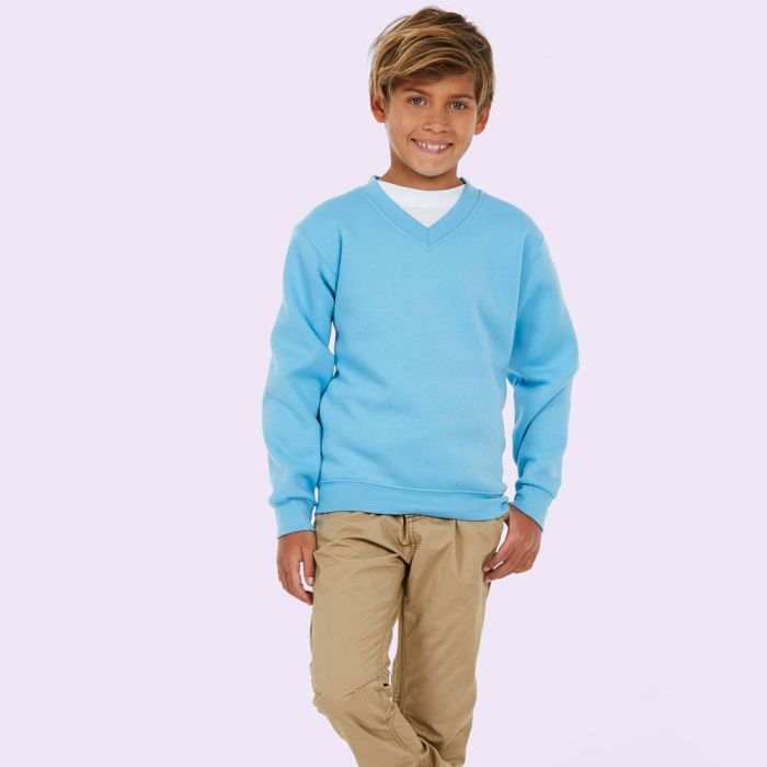 Uneek - Childrens V-neck Sweatshirt - UC206