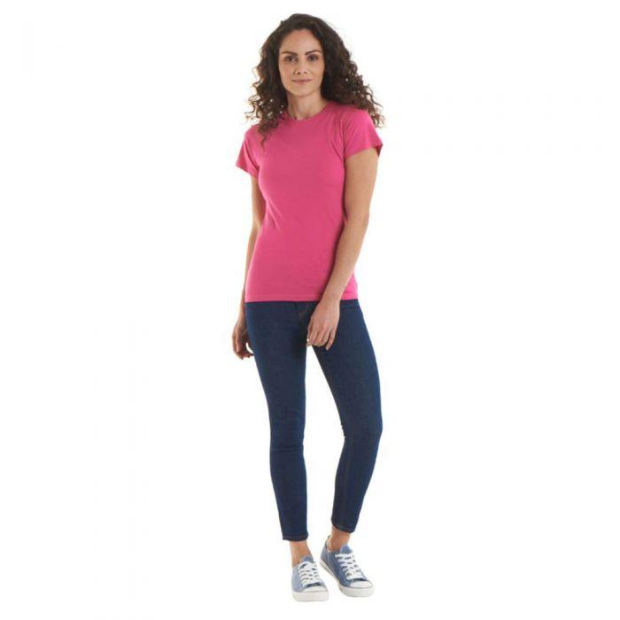 Uneek - Ladies Classic Crew Neck T-Shirt - UC318