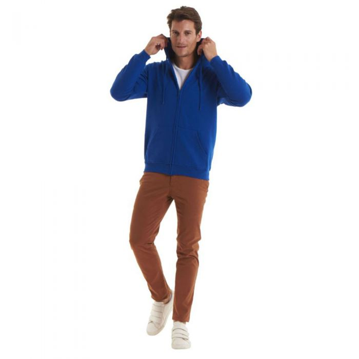 Uneek - Adults Classic Full Zip Hooded Sweatshirt - UC504