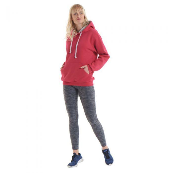 Uneek - Contrast Hooded Sweatshirt - UC507