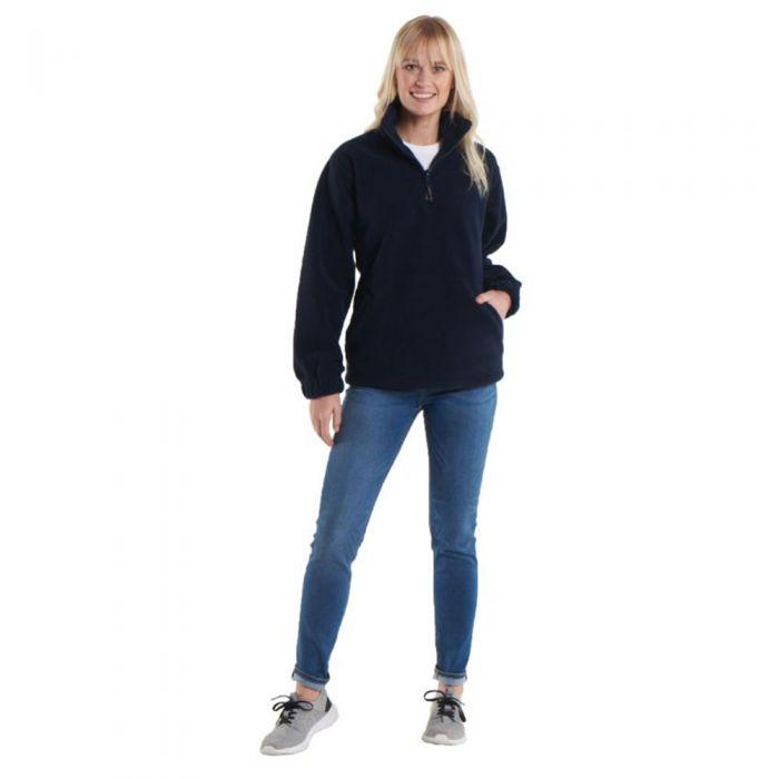 Uneek - Premium 1/4 Zip Micro Fleece Jacket - UC602