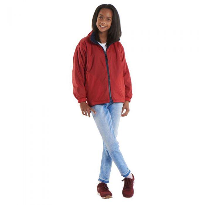 Uneek - Childrens Premium Reversible Fleece Jacket - UC606