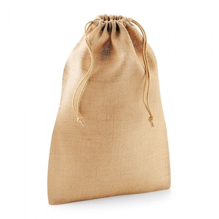 Westford Mill - Jute Stuff Bag - WM415